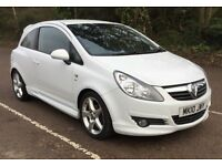 White Vauxhall Corsa 1.4 SRI VERY LOW MILEAGE