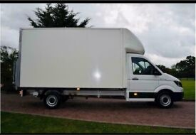 Man with van house removal office commercial removal sofa furniture moving rubbish collection local