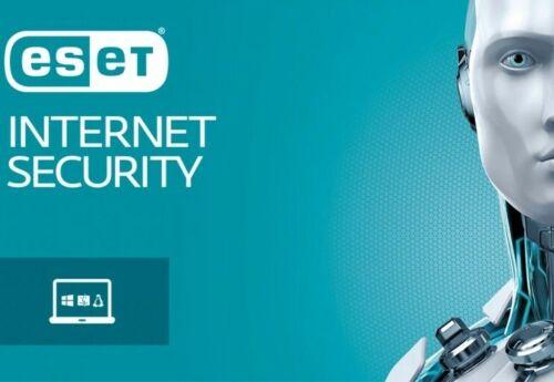 ESET nod32 internet  security 3-years worldwide activation