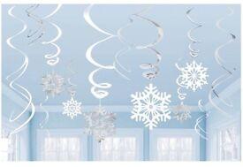 Amscan Swirls Snowflake Value Pack - #1 Best Seller in Streamers