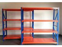 NEW SIMPLY SHELVING LONGSPAN STORAGE RACKING SYSTEM BAY (Brentwood Branch)