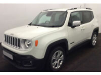 Jeep Renegade FROM £72 PER WEEK!