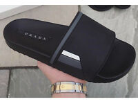 Mens Prada sliders uk 9. BNWB