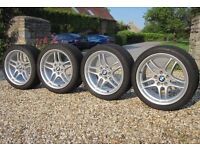 """BMW M parallel alloy wheels 18"""" staggered parallel alloys 18"""" 5 series"""