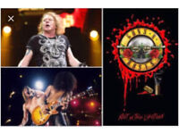 2 x GOLDEN CIRCLE Guns n Roses Slane Castle tickets! These are SOLD OUT ONLINE! £275 each