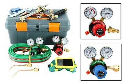 Gas Welding And Cutting Set 250 System Victor Type Oxygen Acetylene Torch Welder