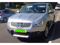 Nissan qashqai teckna 2WD 1.6 silver Vgc