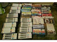 Job lot of VHS videos. Movies, TV, box sets