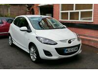 Mazda 2 Tamura 1.3 ,Pearl White, Full Mazda Service History, One Lady Owner, Very Low Mileage