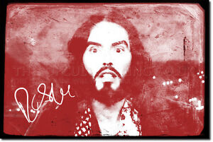 RUSSELL-BRAND-SIGNED-ART-PRINT-PHOTO-POSTER-AUTOGRAPH-GIFT