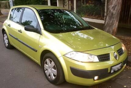 2004 Renault Megane Authentique - 1.6L - Very Good Car - Rego/RWC