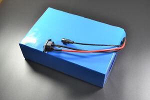48V 30Ah LiFePo4 Lithium ionen Batterie Li-ion Akku Elektroscooter 4A Ladegerät