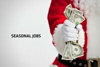 Flexible Seasonal Student Positions- Starting pay $20.25/appt