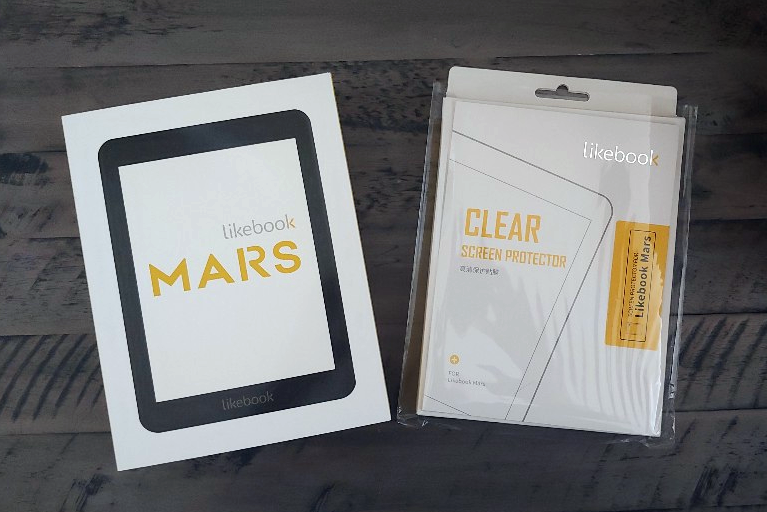 """Likebook Mars E-Reader 7.8"""" E-Ink Touch Screen Android Ebook"""