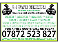 RJ Waste Clearance. Rubbsish removal, Clearance, house garden office trade waste all cleared
