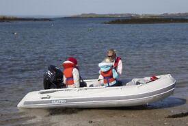 3.6 meter Rib, outboard package.