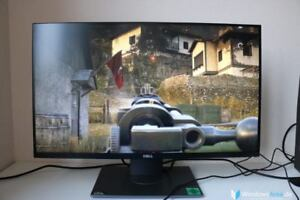 Dell S2716DG 1440p Gaming Monitor GSYNC 144hz 27' - Used