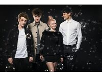 CLEAN BANDIT - MONDAY 24th OCTOBER @ROUNDHOUSE LONDON