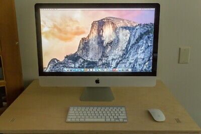 "Apple iMac 27"" 5K LATE 2015 3.3GHz Intel Core i5 8GB RAM 2TB FUSION MK482B A1419"