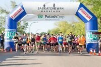 Volunteer for SK Marathon in Saskatoon