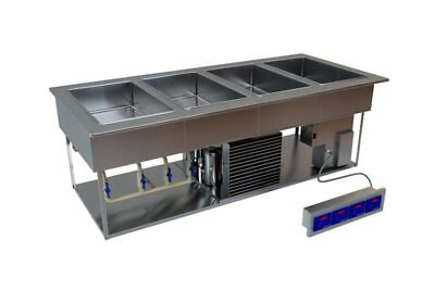 Low Temp Industries Lti Hot And Cold Steam Table Drop In 3 Well Chp-3