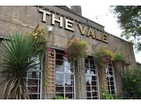 Experienced Part-time Bar Staff Required - Immediate start