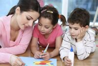 Looking for temporary nanny or drop-in daycare