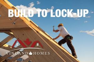 Build your own home on a Solid Foundation from Vinland Homes.