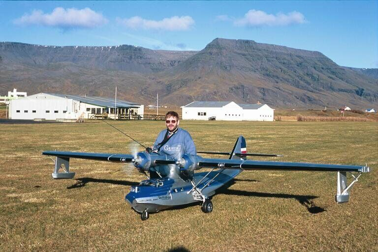 """PBY Catalina 108""""  Giant Scale RC Model AIrplane Printed Plans"""