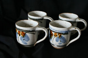 Cups - Set of 4, New Hand Made Pottery Kingston Kingston Area image 2