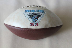 Rare Toronto Phantoms Inaugural Season Football