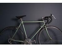 Men's classic road bike eroica ready