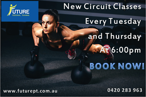 Circuit classes new times!!! 6:00pm Beaconsfield Fremantle Area Preview