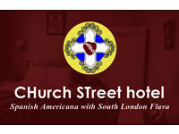 Full or Part time Night Receptionist for Funky, downtown Boutique Hotel in South London