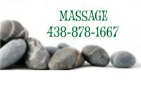 Relaxing therapeutic massage