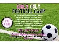 GIRLS FOOTBALL CAMPS