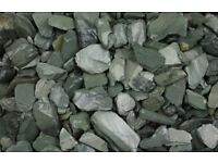 BULK BAG OF WELSH GREEN SLATE