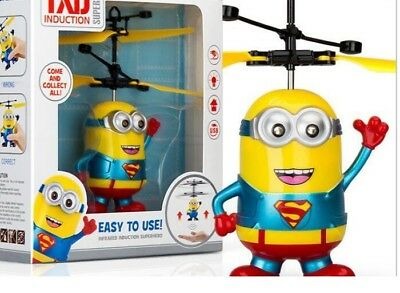 Flying induction Minions  RC drone Helicopter regalo per Natale/Christmas gift