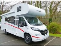 2018 SUNLIGHT A72, 6 BERTH, 150BHP, CANOPY, £6500 OFF! MOTORHOME
