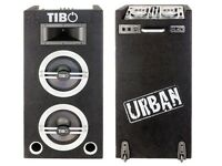 tibo urban 500 speakers and decks