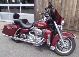 2008 Harley Electra Glide low kms