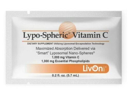 LivOn Laboratories Lypo-Spheric Vitamin C 1000mg - 30 Packet - Exp. 08/2022 2