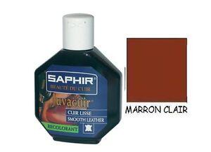 Teinture cuir marron clair juvacuir pigmente renove embellit blouson chaussure ebay - Teinture marron clair ...