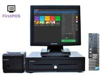 Full Touchscreen EPOS POS Cash Register Till System for Retail and Hospitality Businesses