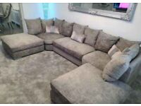 << NEW SALE >> BRANDED HIGH QUALITY U-SHAPE CORNER SOFA 6 SEATER AVAILABLE IN STOCK NOW