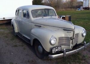 1940 Plymouth Sedan Special Deluxe $3200 or trade?