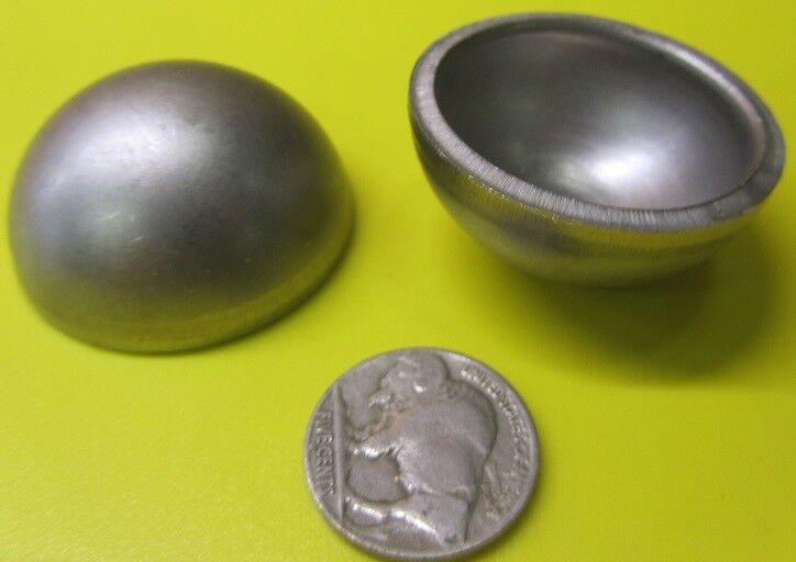"304 Stainless Steel Half Sphere / Balls 1.50"" Diameter x .750"" Height, 8 Piece"