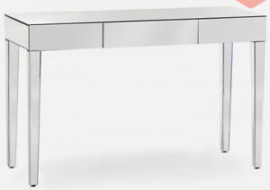 Brand New Mirrored Console table