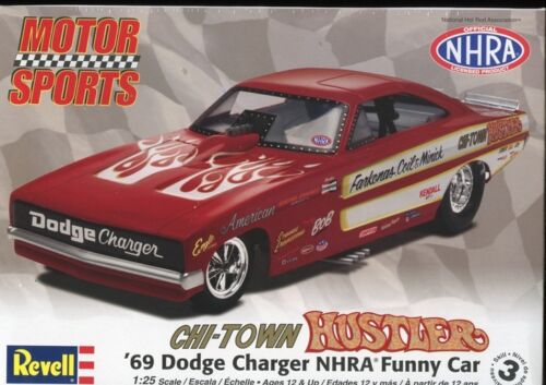 Revell 85-4286 Chi-Town Hustler Charger Funny Car NHRA Vintage Drag Racing Model