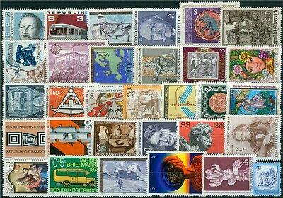 Österreich Jahrgang 1978 Michel Nr. 1566-1596 postfrisch